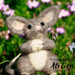 Needle felted ring tail possum